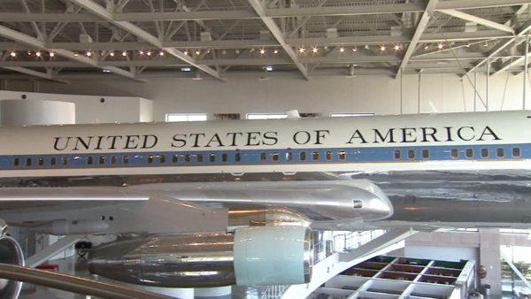 Another popular attraction at the Ronald Reagan Presidential Foundation & Library is Air Force One - the exact 707 that was used not only for President Reagan, but for every president from Richard Nixon on up to the George H.W. Bush.