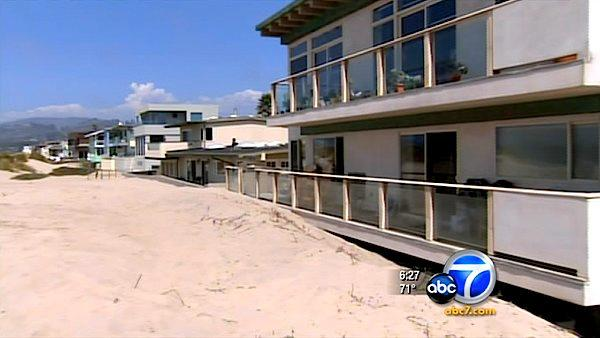Dune moved at Ventura beach may be a crime