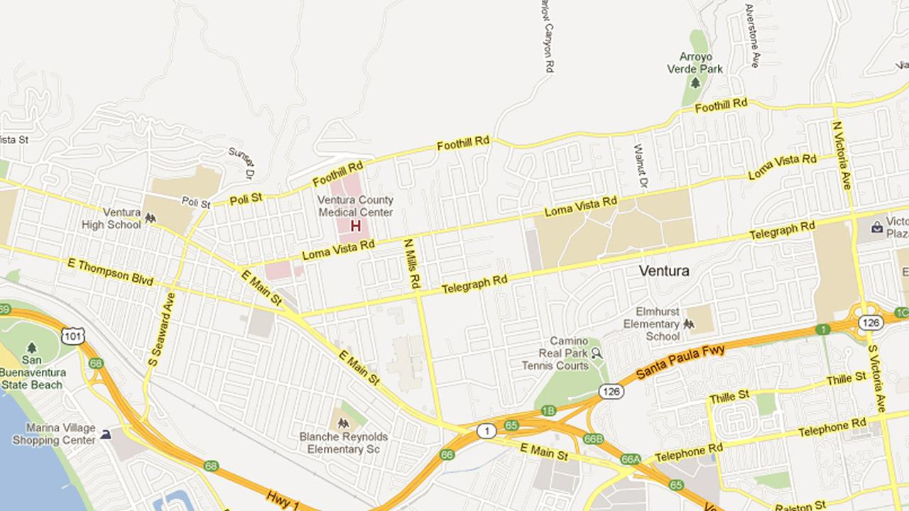 File photo of a portion of the city of Ventura.