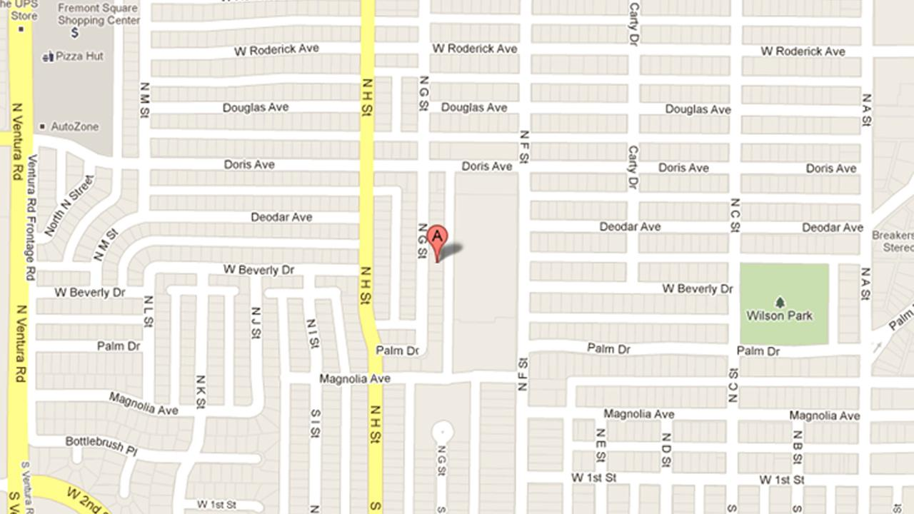 A car was reportedly stolen from the 400 Block of North G Street in Oxnard on Sunday, Sept. 9, 2012.
