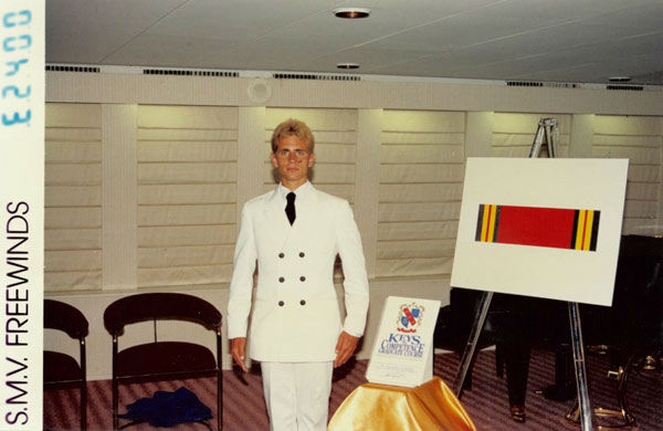 Stefan spent time working aboard Scientology&#39;s Freewinds ship in the late 80&#39;s.  Freewinds is based in the Caribbean and is where Scientologists go to receive upper-level counseling &#40;Pictured here in 1988 on the Freewinds ship&#41;. <span class=meta>(Photo&#47;KABC Photo)</span>