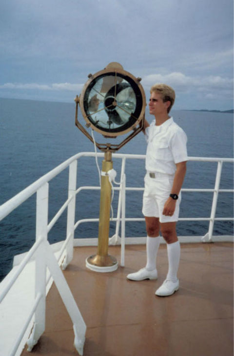 "<div class=""meta ""><span class=""caption-text "">Stefan spent time working aboard Scientology's Freewinds ship in the late 80's.  Freewinds is based in the Caribbean and is where Scientologists go to receive upper-level counseling (Pictured here in 1988 on the Freewinds ship). (Photo/KABC Photo)</span></div>"