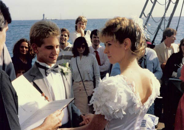 Tanja and Stefan Castle met, fell in love and married in Scientology&#39;s elite &#39;Sea Org&#39; &#40;wed on June 19, 1988&#41; which requires all members to sign a &#39;billion year&#39; contract, pledging this and every future lifetime to the church. <span class=meta>(KABC Photo)</span>