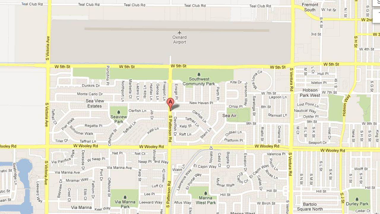 Oxnard police officers were called to a report of a stabbing on the 2900 block of Oarfish Lane at 10:55 p.m. Sunday.