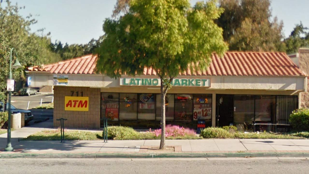 The Latino Market at 711 E. Thousand Oaks Boulevard was burglarized Sunday, April 7, 2013.