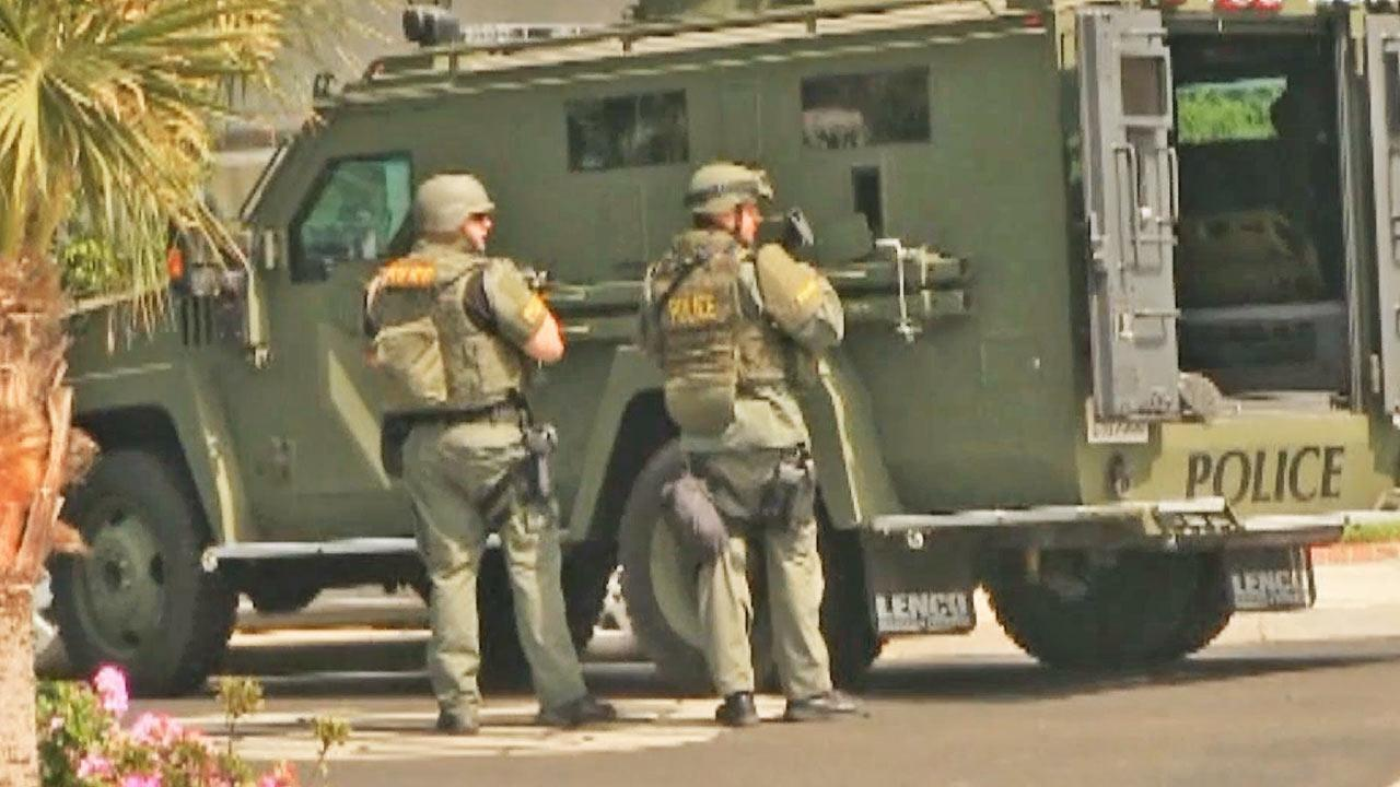 A SWAT team was summoned to an Oxnard shooting scene on Sunday, June 16, 2013.
