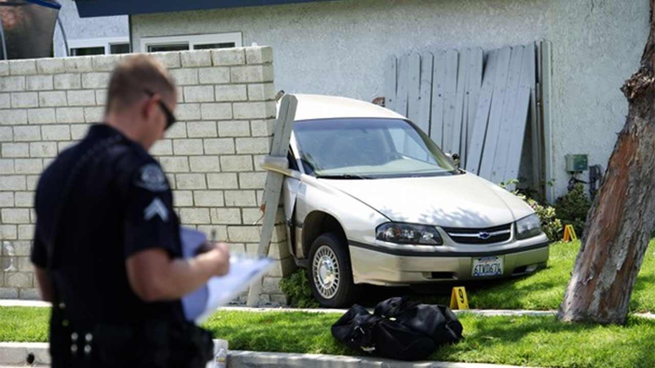 An investigation is under way in Ventura after a suspect fatally struck a 65-year-old woman in the 1200 block of Halifax Court following a domestic dispute Wednesday, July 3, 2013.