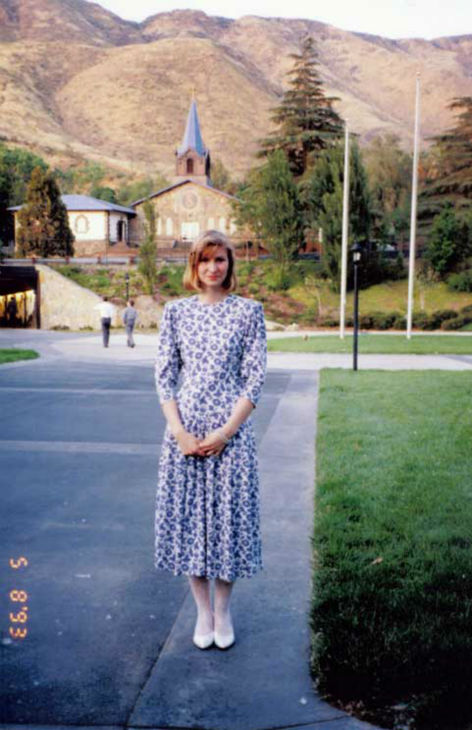 "<div class=""meta ""><span class=""caption-text "">Seen here at Scientology's International Base near Hemet on May 8, 1993, Tanja Castle devoted her life to Scientology. Members of the 'Sea Org' typically earn about $50/ week. (Photo/KABC Photo)</span></div>"