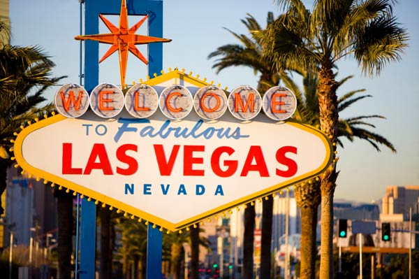 Las Vegas ranked No. 2 in a list of top Labor Day getaway destinations, according to a survey of the Auto Club&#39;s AAA Travel agents. <span class=meta>(KABC)</span>