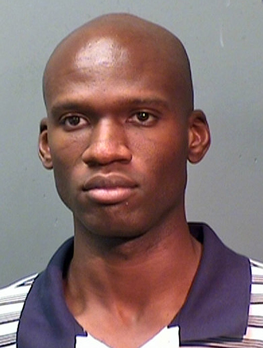 Aaron Alexis is seen in a 2010 mugshot in Fort Worth, Texas.