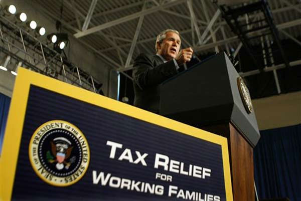 President Barack Obama's bipartisan tax cutting...