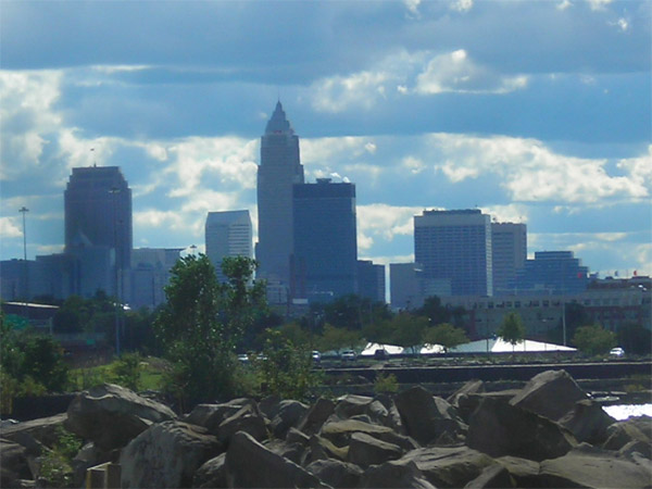 Cleveland, Ohio ranked  No. 8 on Forbes&#39; list of affordable U.S. cities. Forbes came up with the list by looking at factors such as median asking price of homes and unemployment rates. <span class=meta>(flickr&#47;dougtone)</span>