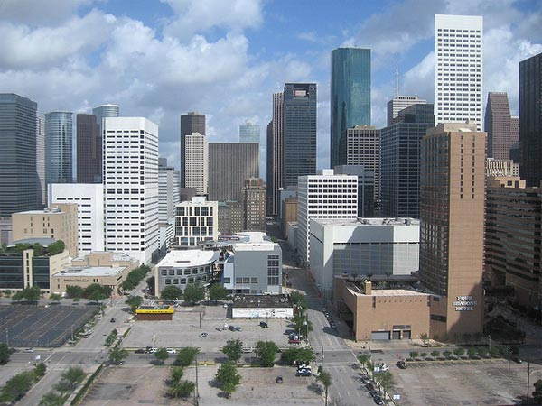 Houston-Sugar Land-Baytown, Texas ranked No. 7...