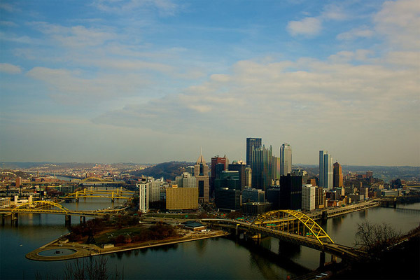 Pittsburgh, Pa. ranked  No. 6 on Forbes&#39; list of affordable U.S. cities. Forbes came up with the list by looking at factors such as median asking price of homes and unemployment rates. <span class=meta>(flickr&#47;sakeeb)</span>