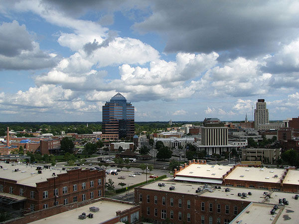 "<div class=""meta ""><span class=""caption-text "">No. 7: With a population of more than 500,000, Durham, N.C., has an unemployment rate of 7.1 percent with 38 percent housing availability and an average per capita personal income of $41,008. (flickr / libby lynn)</span></div>"