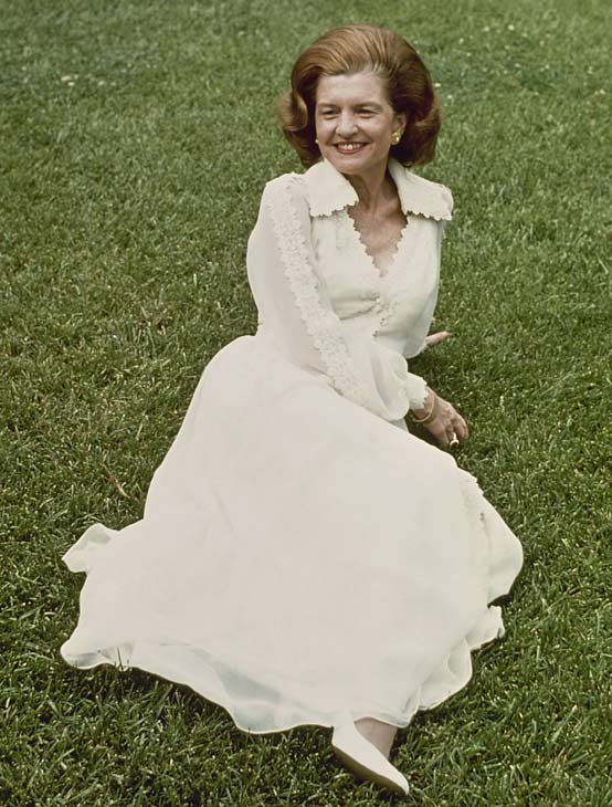 First lady Betty Ford, seen this undated photo, died on Friday, July 8, 2011.  <span class=meta>(AP Photo)</span>