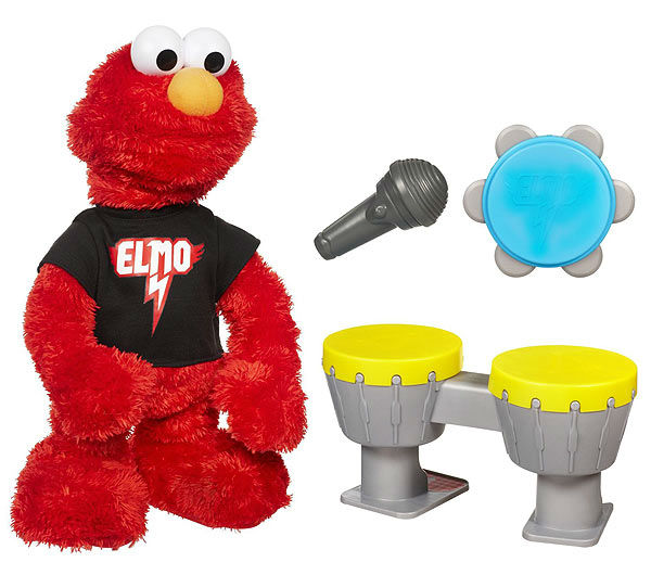 "<div class=""meta ""><span class=""caption-text "">No. 8: Let's Rock Elmo. The red Muppet made it to Toys""R""Us' 2011 ""Hot Toys"" list and is very likely to get snatched up this year, according to Adweek. (facebook.com)</span></div>"