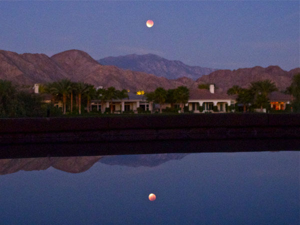 ABC7 viewer Andrew Lewis sent in this photo of a lunar eclipse over La Quinta, Calif. Dec. 10, 2011.  When You Witness breaking news, or even something extraordinary, send pictures and video to video@myabc7.com, or send them to @abc7 on Twitter <span class=meta>(KABC Photo&#47; Andrew Lewis)</span>