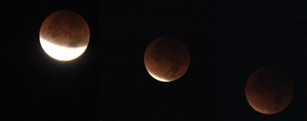 ABC7 viewer Laurie Crouse sent in this photo of a lunar eclipse over Moreno Valley, Calif. Dec. 10, 2011.  When You Witness breaking news, or even something extraordinary, send pictures and video to video@myabc7.com, or send them to @abc7 on Twitter <span class=meta>(KABC Photo&#47; Laurie Crouse)</span>