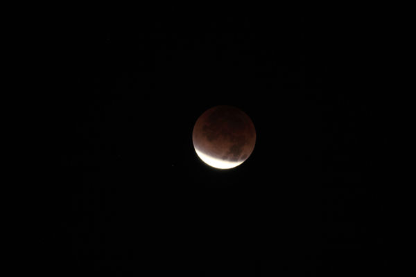 ABC7 viewer Brian Moore sent in this photo of a lunar eclipse over Westminster, Calif. Dec. 10, 2011.  When You Witness breaking news, or even something extraordinary, send pictures and video to video@myabc7.com, or send them to @abc7 on Twitter <span class=meta>(KABC Photo&#47; Brian Moore)</span>