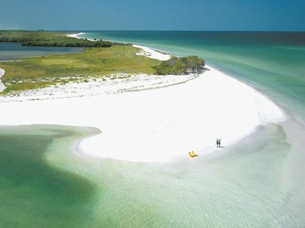 Caladesi Island State Park in Dunedin, Fla. ranked No. 12 on TripAdvisor&#39;s 2013 Traveler&#39;s Choice Beaches Awards list. The travel website says the beach is great for visits year-round. <span class=meta>(TripAdvisor)</span>