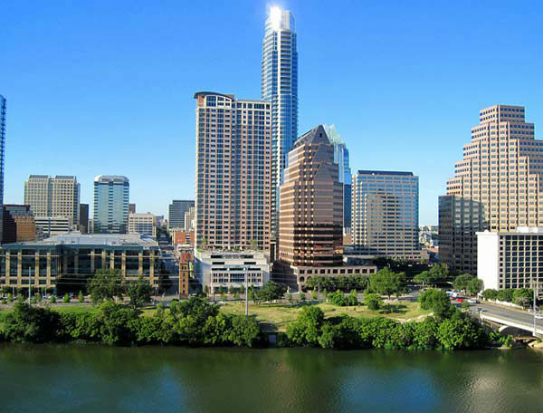 Austin, Texas was listed as one of the top 10 cities to retire in the county.