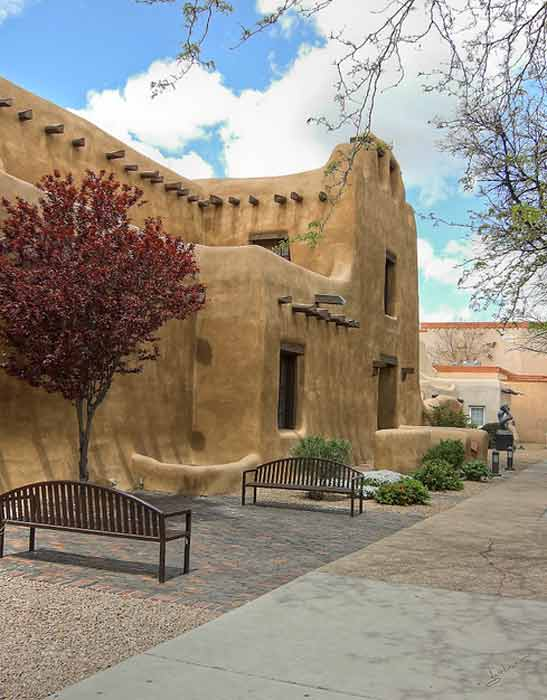 Santa Fe, N.M. was listed as one of the top 10 cities to retire in the county. Yahoo! Finance says the small, rustic town is the oldest and most western of capital cities. There is also 300 days of sunshine on average, as well as a mild climate for summer and winter. Median home price is &#36;380,000. <span class=meta>(flickr.com&#47;gholmes)</span>
