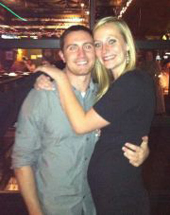 Alex Teves, 24, of Arizona was killed in the Colorado theater shooting. Teves' aunt Barbara Slivinske told ABC News that he had just finished graduate school in June and was planning on becoming a physical therapist. Teves and his girlfriend Amanda Lingren are shown in this picture, provided by Slivinske.