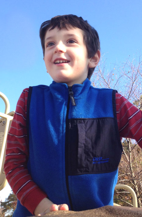 This photo provided by the family shows Benjamin Andrew Wheeler, 6. The boy was killed Friday, Dec. 14, 2012, when a gunman opened fire at Sandy Hook elementary school in Newtown, Conn., killing 26 children and adults at the school. <span class=meta>(Courtesy of the Wheeler family)</span>