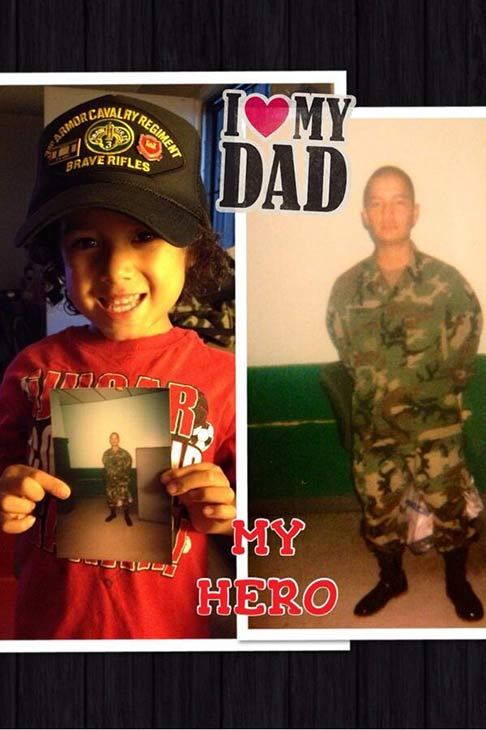 ABC7 viewer Sylvia Ramirez sent in this photo in honor of Veterans Day. Post a photo of a veteran you want to honor on our ABC7 Facebook page or send us photos on Twitter or Instagram with #abc7salutes. Pay tribute to the men and women who fight for our country! Post a photo of a veteran you want to honor on our ABC7 Facebook page. You can also send us your photos on Twitter or Instagram with #abc7salutes. <span class=meta>(ABC7 viewer Sylvia Ramirez)</span>