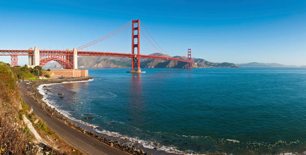 San Francisco ranked No. 4 in a list of top Labor Day getaway destinations, according to a survey of the Auto Club's AAA Travel agents.