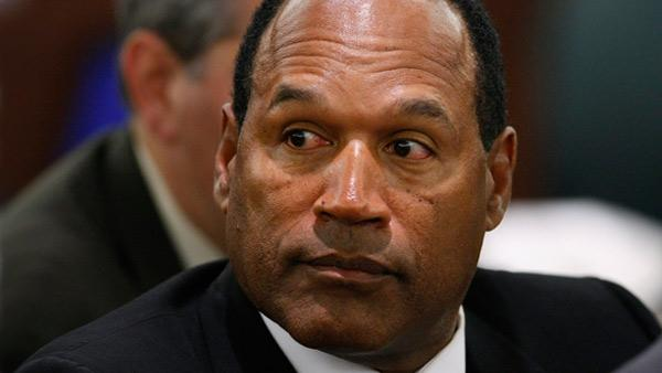 O.J. Simpson in court