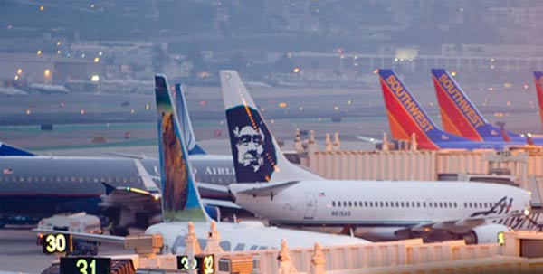 San Diego International Airport-Lindbergh Field was ranked No. 7 in a Travel &#43; Leisure list of America&#39;s safest airports. The list was compiled using FAA data. <span class=meta>(www.san.org)</span>