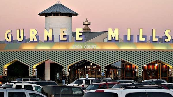 Gurnee Mills in Gurnee, Ill., is No. 9 on Yahoo's Most Visited Shopping Malls list.