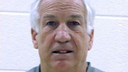 Ex-Penn State coach Jerry Sandusky is seen in this undated file photo.
