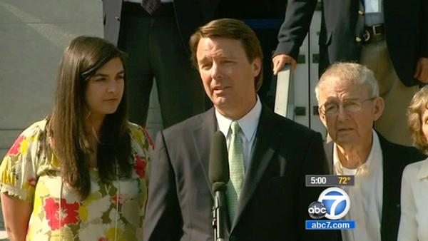 John Edwards trial: Mistrial on 5 counts