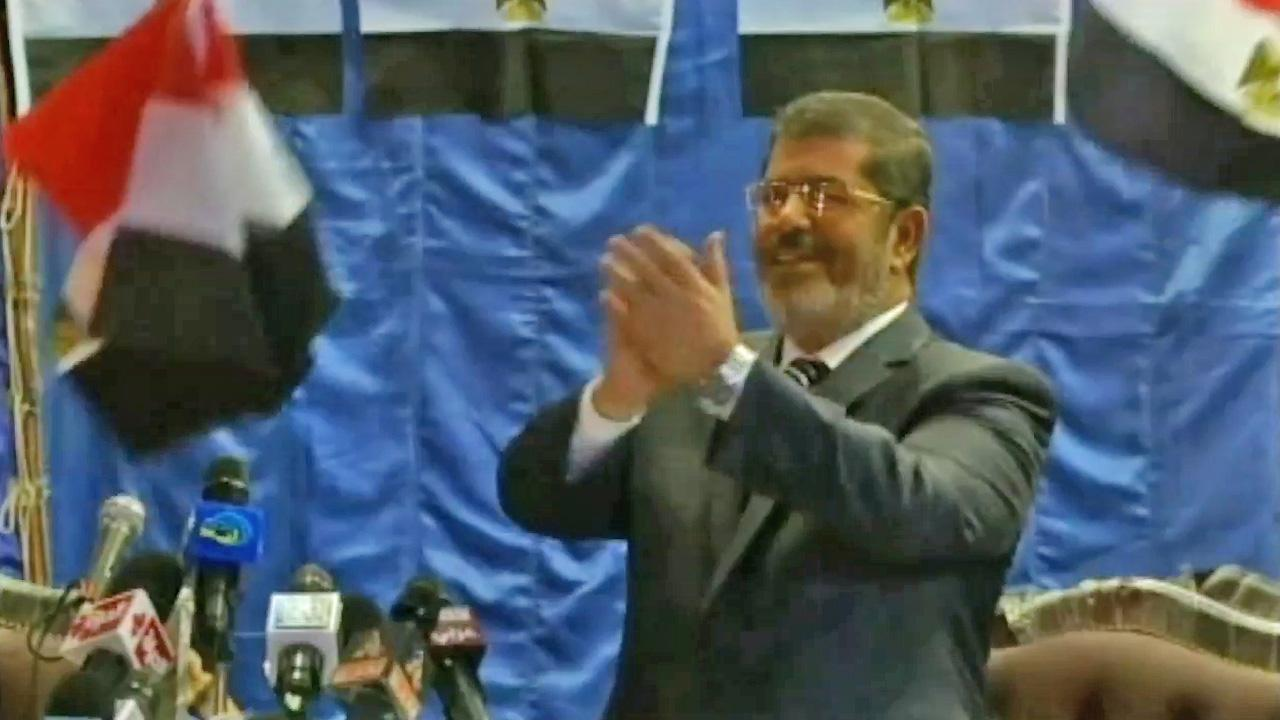 Mohammed Morsi is seen in this file photo.
