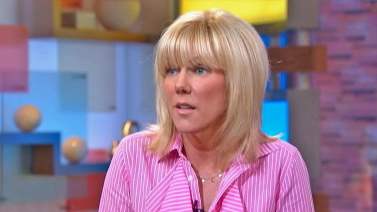Rielle Hunter, the former mistress of John Edwards, is seen during an interview on Good Morning America with George Stephanopoulos on Tuesday, June 26, 2012.