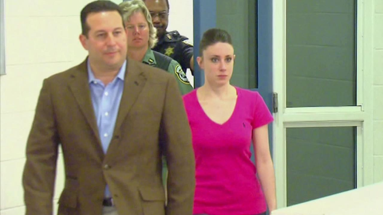 Attorney Jose Baez and Casey Anthony are seen in this undated file photo.