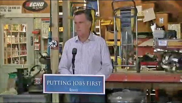 June jobs report disappointment, fuels Romney