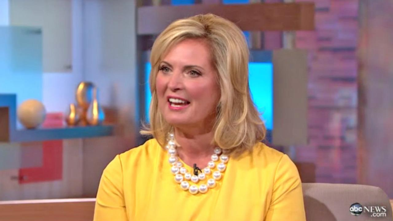 Ann Romney talks to ABCs Robin Roberts during an interview that aired on Good Morning America on Thursday, July 19, 2012.
