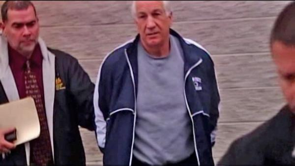 Sandusky shower victim plans to sue school