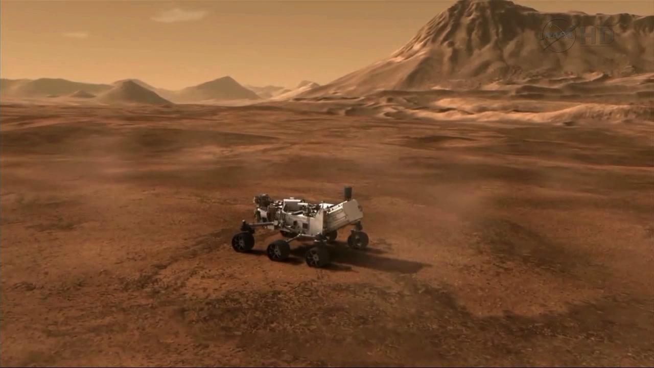 An artists rendering of the Curiosity rover is seen in this image provided by NASA/JPL-Caltech.