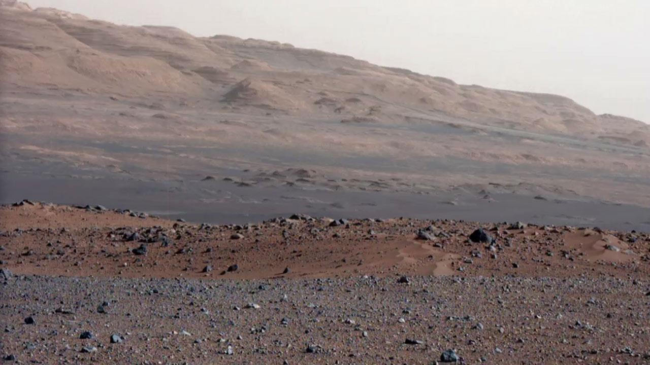 JPL on Monday, Aug. 27, 2012, showed off new, spectacular enhanced images from the surface of Mars captured by the Curiosity rover.