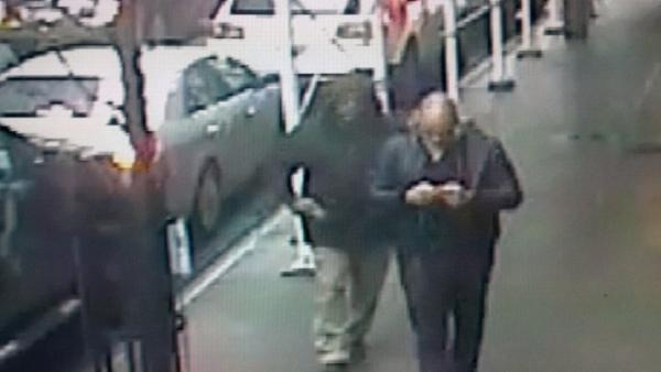 Surveillance video shows NYC murder suspect