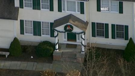 A December 2012 photo of the home of Adam Lanza, the man suspected of going on a shooting rampage in Newtown, Conn.