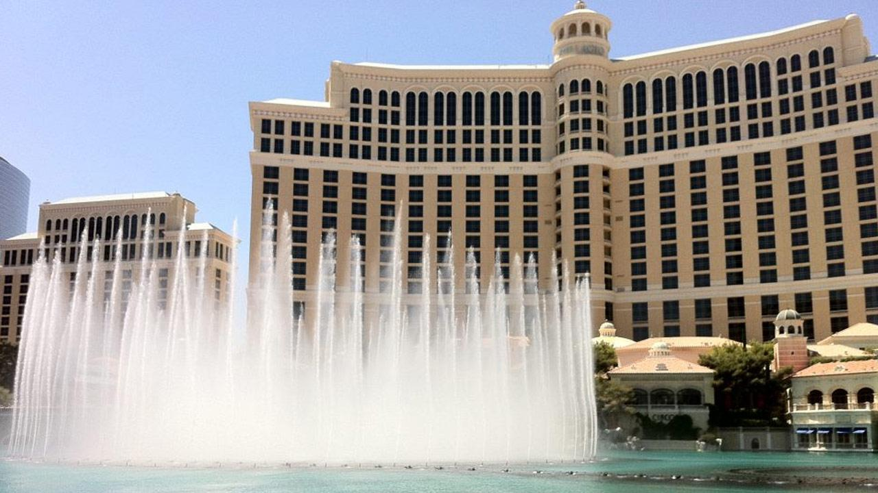 The Bellagio hotel-casino is shown in this image from its Facebook page.