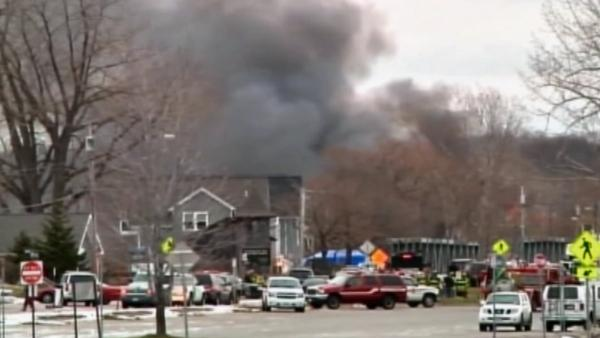2 firefighters killed in ambush at NY house
