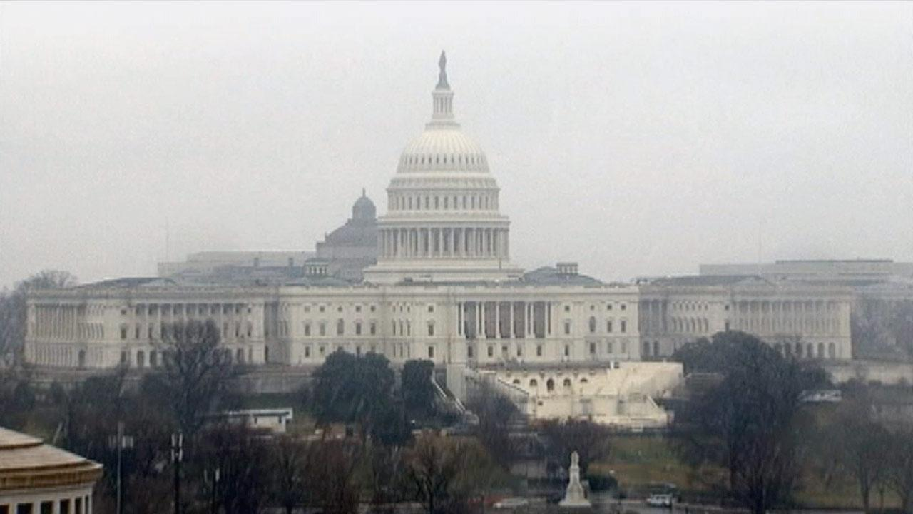 The United States Capitol on Saturday, Dec. 29, 2012.