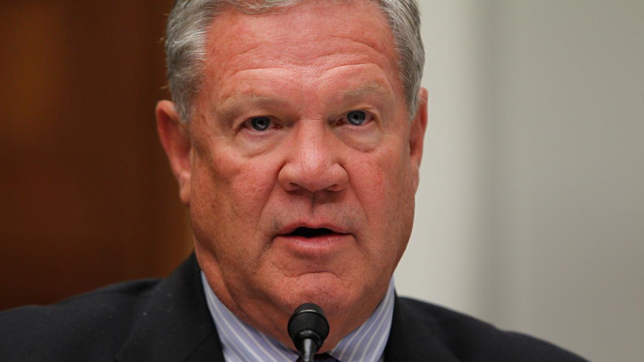 Rep. Charlie Wilson, D-Ohio, questions witnesses at the House Financial Services Committee hearing regarding Lehman Brothers and financial reform on Capitol Hill in Washington, Tuesday, April 20, 2010. <span class=meta>(Charles Dharapak)</span>